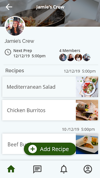 Preppy app group screen