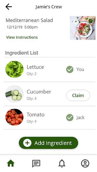 preppy app ingredient screen