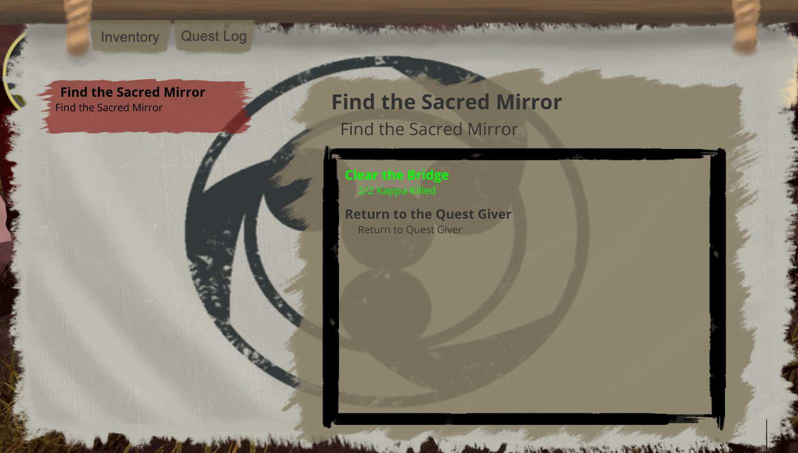 Quest Screen