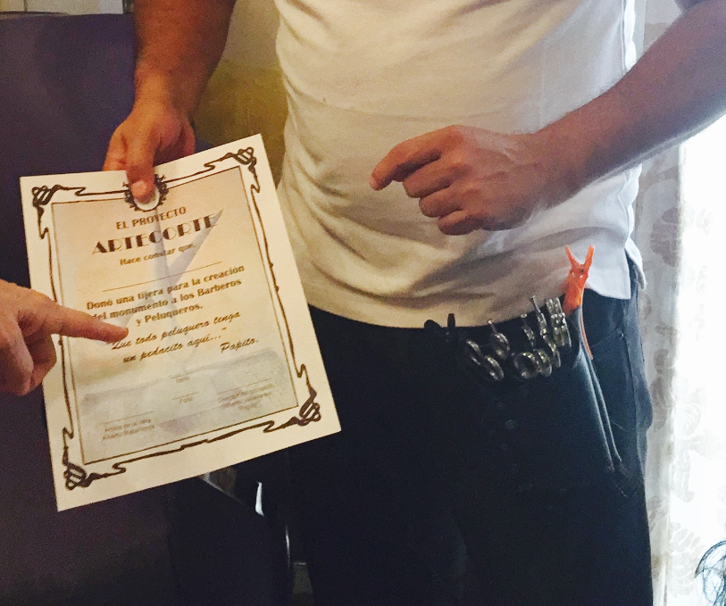 Certificate signed by Papito