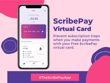 Why ScribePay is Launching a Virtual Card (and why you need it)