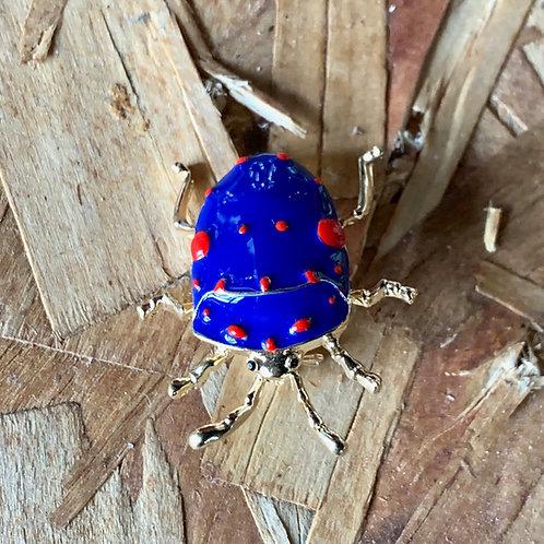blue beetle pin