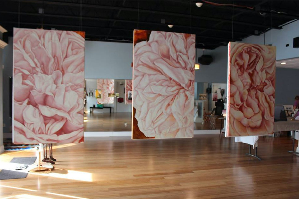 Tara Krause, Cultivo Una Rosa Blanca, 2014