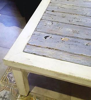 שולחן אחרי חידוש בסו-שוגי-באן - מעצבע