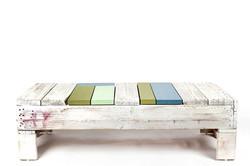 שולחן סלוני מעץ ממוחזר - מעצבע 1