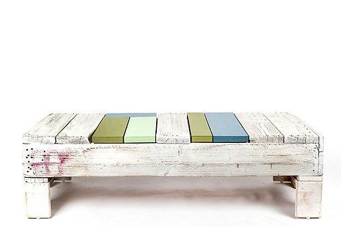 שולחן סלוני מעץ ממוחזר