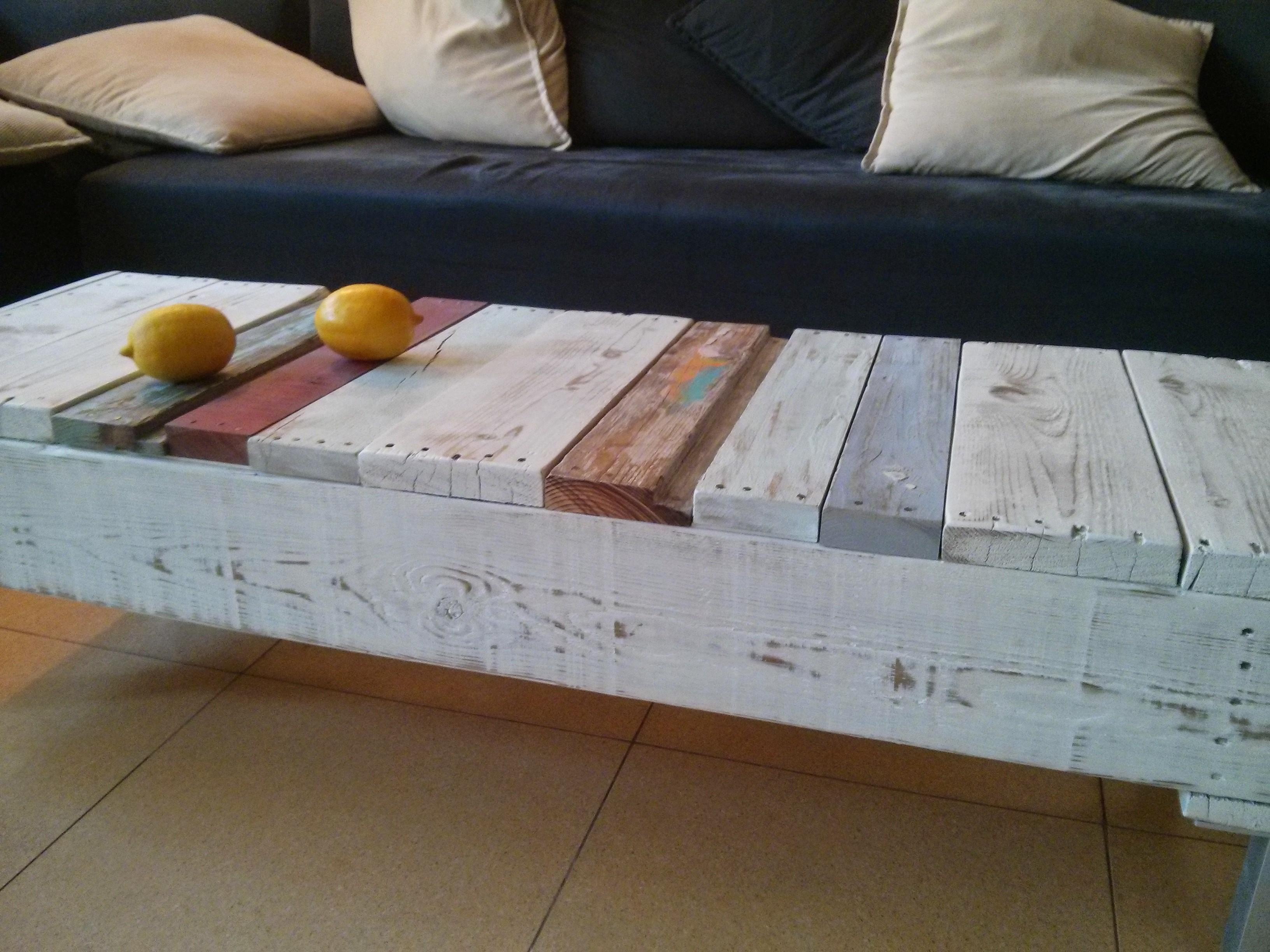 שולחן סלוני וינטג' - מעצבע