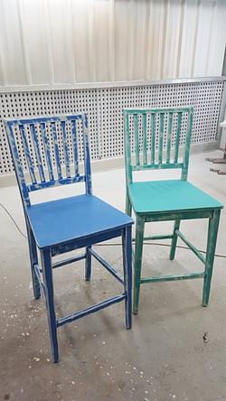 כיסאות בר וינטג' - מעצבע