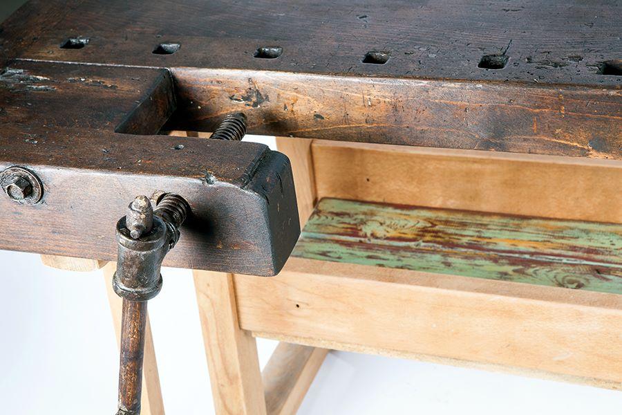 שולחן נגרים וינטג' - מעצבע