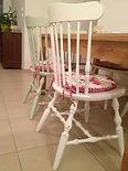 כיסאות לאחר חידוש בסגנון וינטג' - מעצבע
