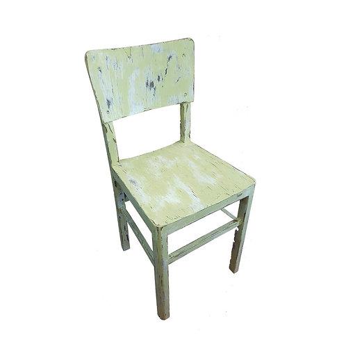 כיסא וינטג' ירקרק
