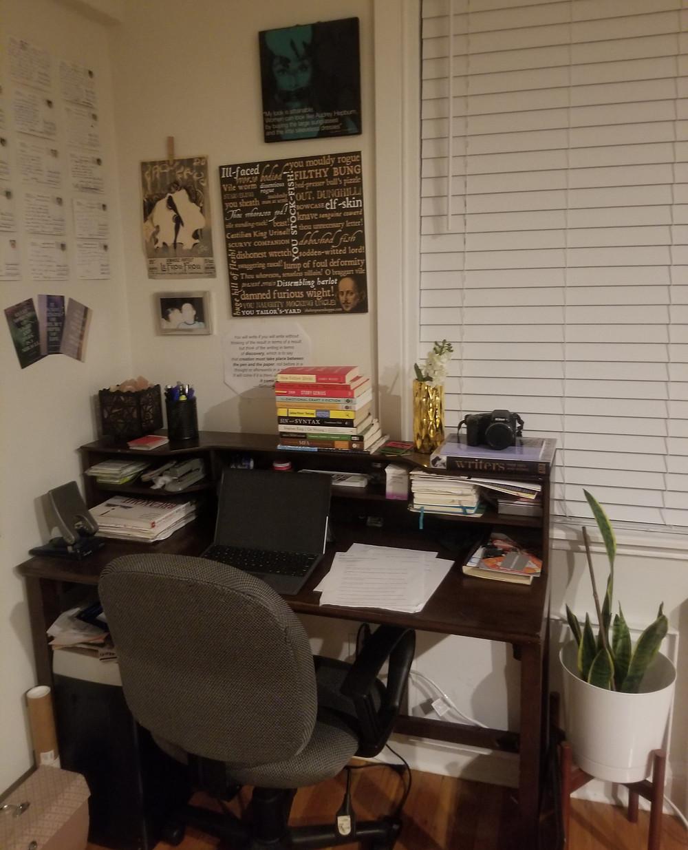 Rayna's workspace