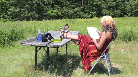 Q&A with Abeer Hoque on Artist Residencies