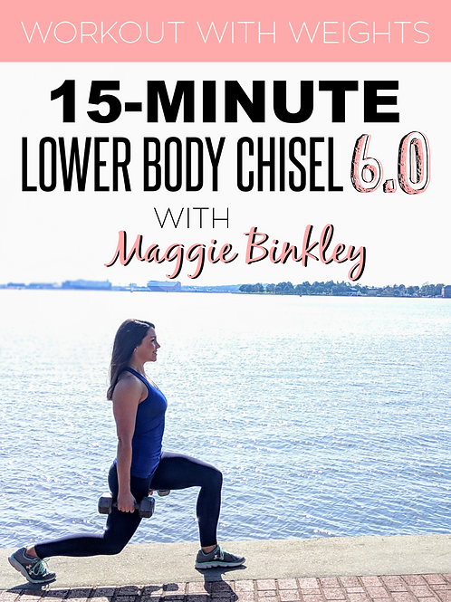 15-Minute Lower Body Chisel 6.0