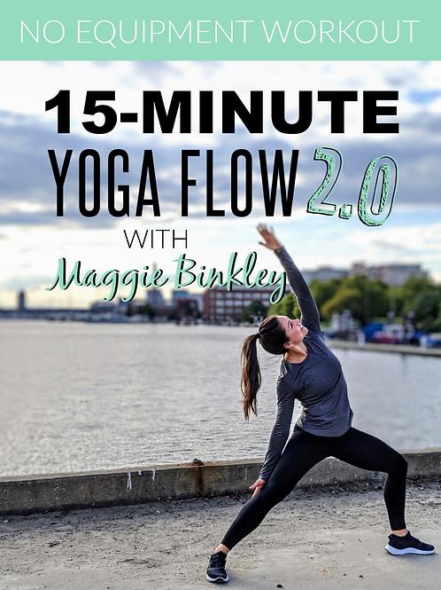 15-Minute Yoga Flow 2.0