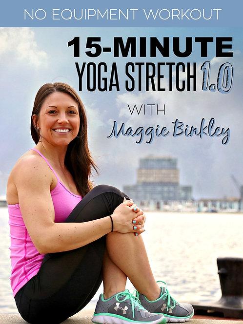 15-Minute Yoga Stretch 1.0