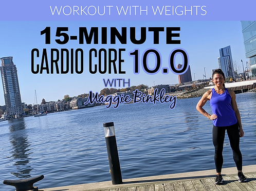 15-Minute Cardio Core 10.0