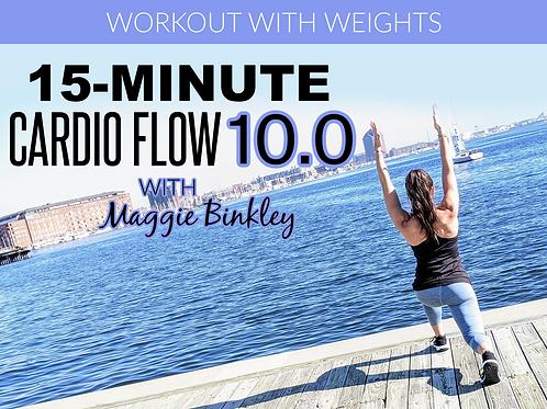 15-Minute Cardio Flow 10.0