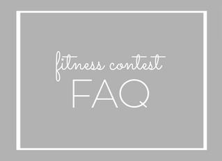 Fitness Contest FAQ