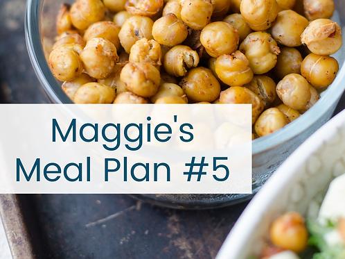 Meal Plan #5