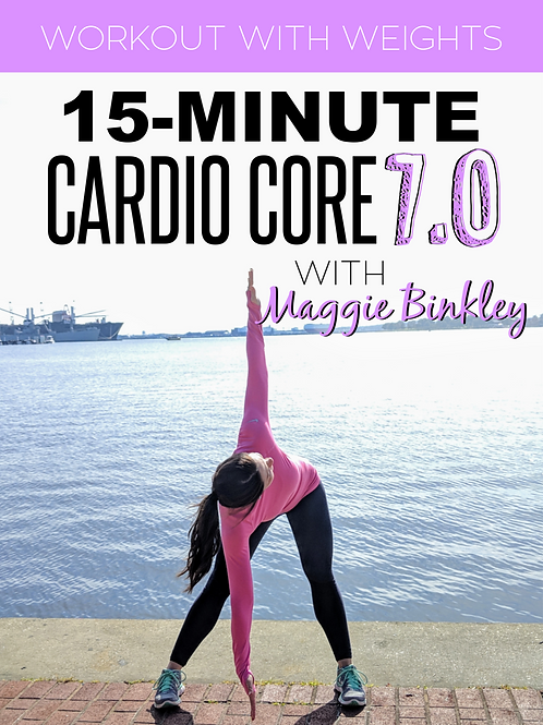 15-Minute Cardio Core 7.0
