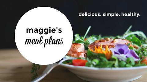 maggie's meal plan image