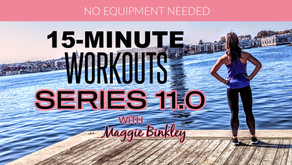 Series 11.0, Mobile App & Fitness Groups (oh my)