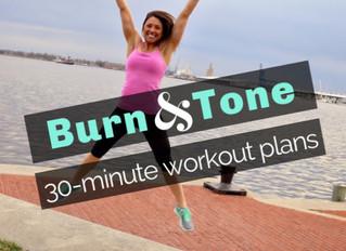 30-Minute Workout Plans (& more 15-min plans!)