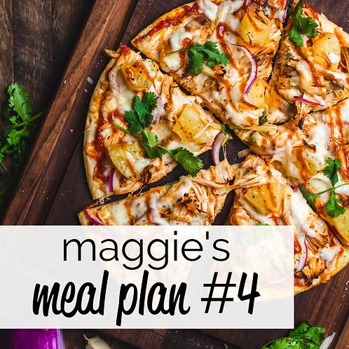 Meal Plan #4