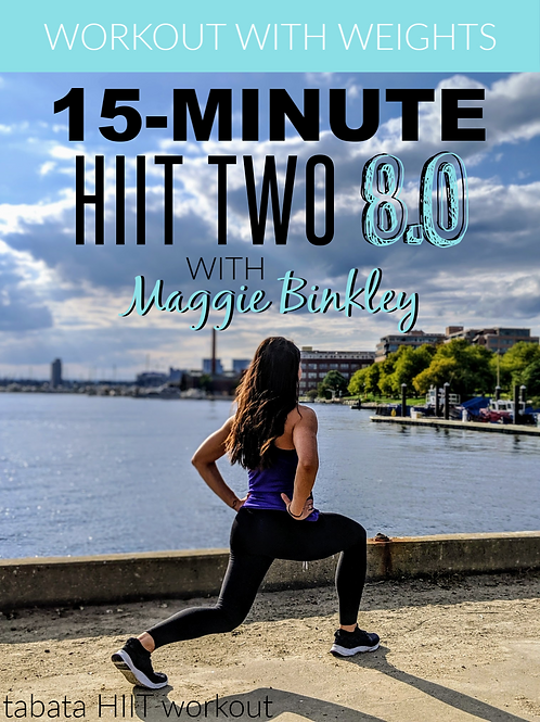 15-Minute HIIT Two 8.0