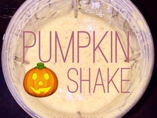 Healthy Pumpkin Shake🎃