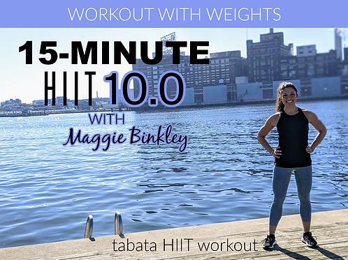 15-Minute HIIT 10.0