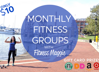 Virtual Monthly Fitness Groups