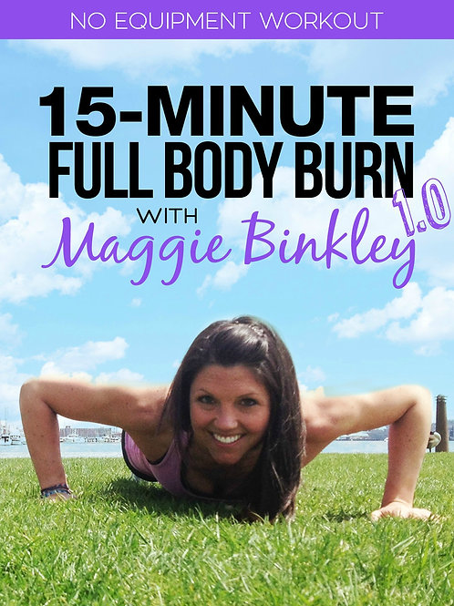 15-Minute Full Body Burn 1.0