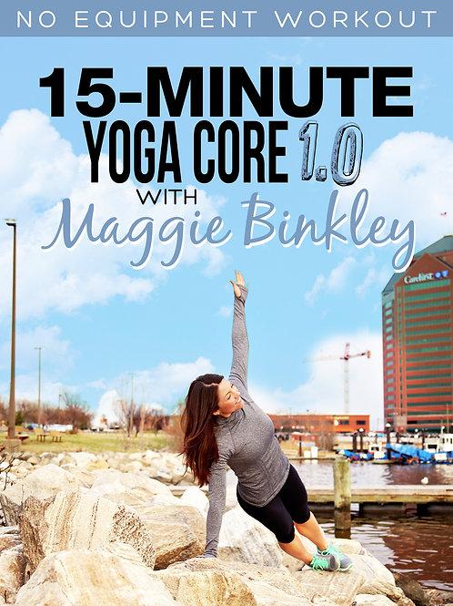 15-Minute Yoga Core 1.0