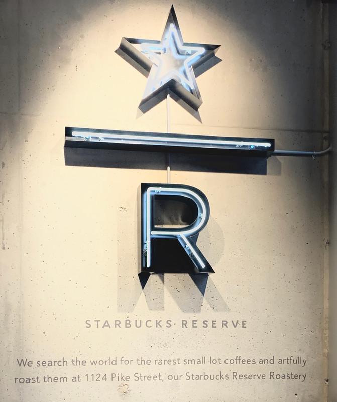 Starbucks Roastery & Reserve Stores