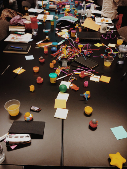 What happens when you bring Play-Doh to a Business?