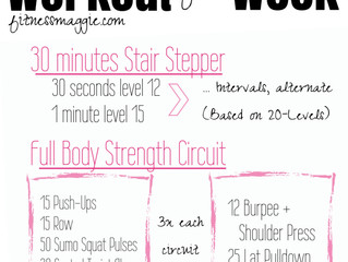Workout of the Week: Stairs + Full Body