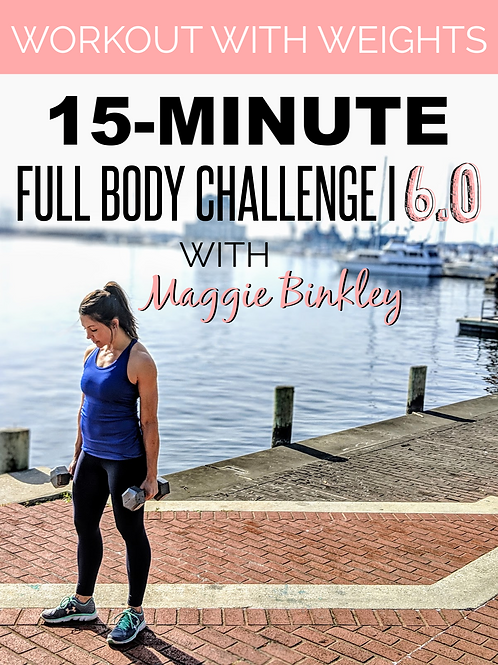 15-Minute Full Body Challenge I 6.0
