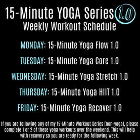 Yoga Series 1.0