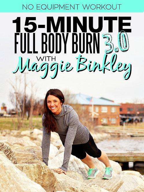 15-Minute Full Body Burn 3.0