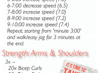 Workout of the Week: Treadmill + Upper Body
