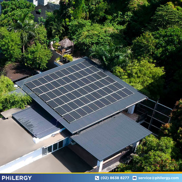 19.8 kWp grid-tied solar system in La Union - Philippines best solar supplier PHILERGY German Solar