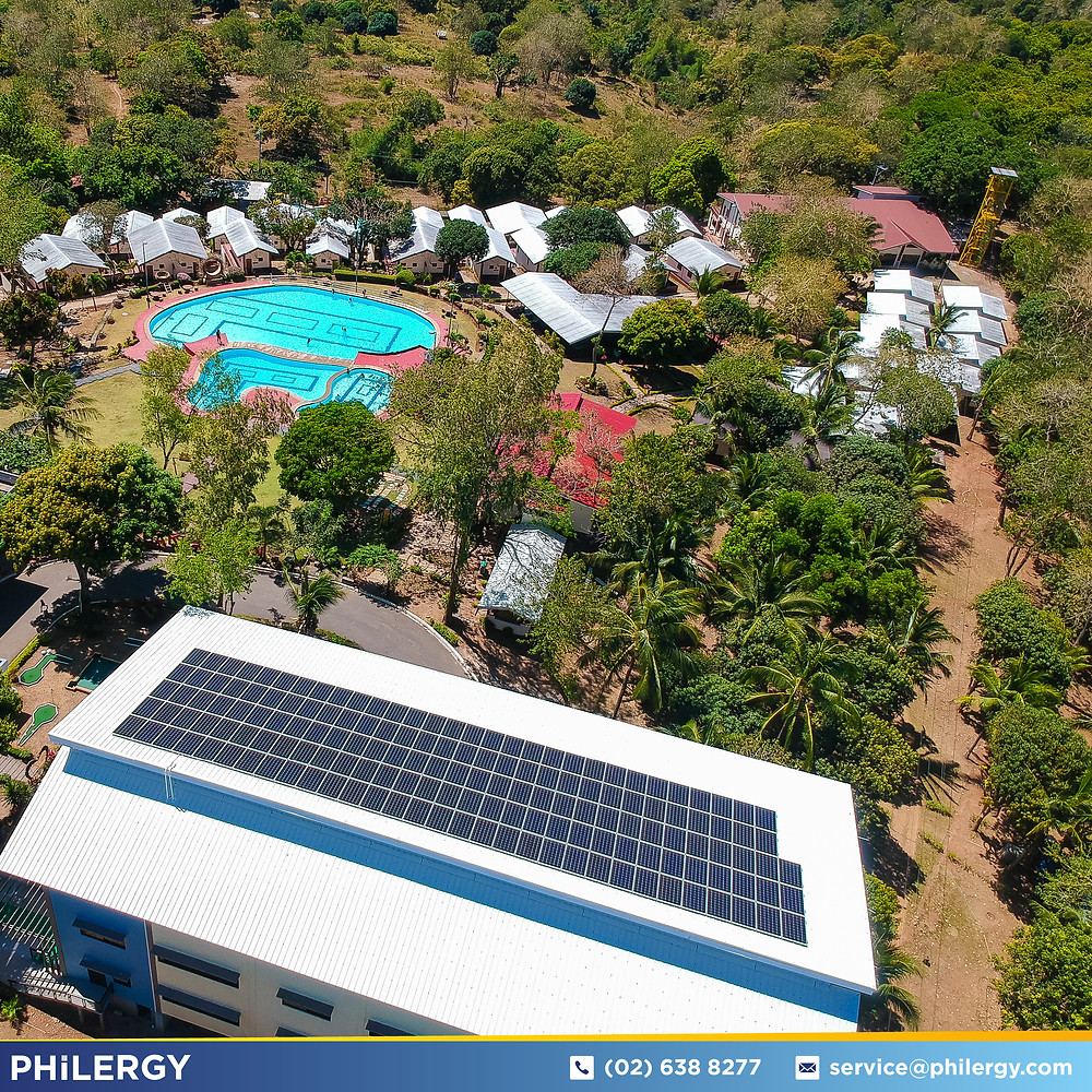 PHILERGY German Solar for homes and businesses  - Bakasyunan Resort and Conference Center in Rizal - High quality installer for solar power systems and top rated panel packages for residential, commercial and industrial roofs in the Philippines