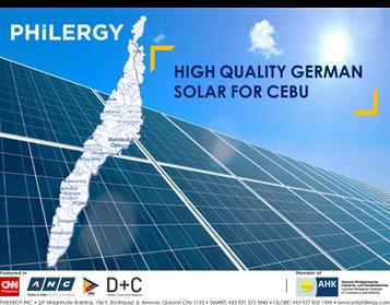 Solar Panel Supplier in Cebu, Philippines - PHILERGY German Solar