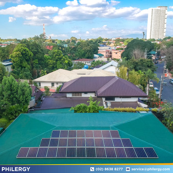 9.76 kWp grid-tied solar system for Varsity Hills, Quezon City home - PHILERGY German Solar