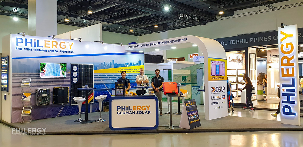 PHILERGY German Solar for homes and businesses  - United Architects Philippines CONEX 2019 - High quality installer for solar power systems and top rated panel packages for residential, commercial and industrial roofs in the Philippines