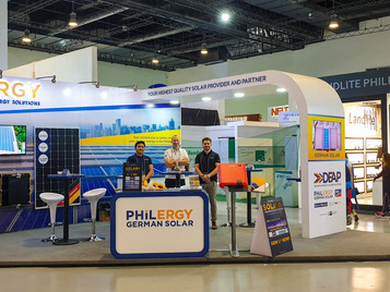 PHILERGY German Solar showcases high quality solar components at CONEX 2019