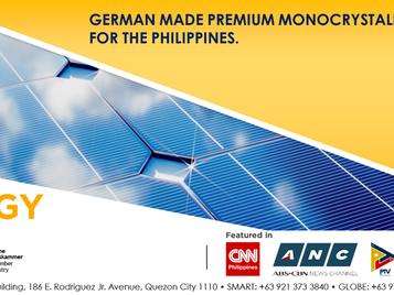 Solar panel supplier Philippines - PHILERGY German Solar's Monocrystalline technology