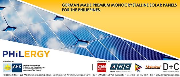 Solar panel supplier Philippines - PHILERGY`s Monocrystalline Panel